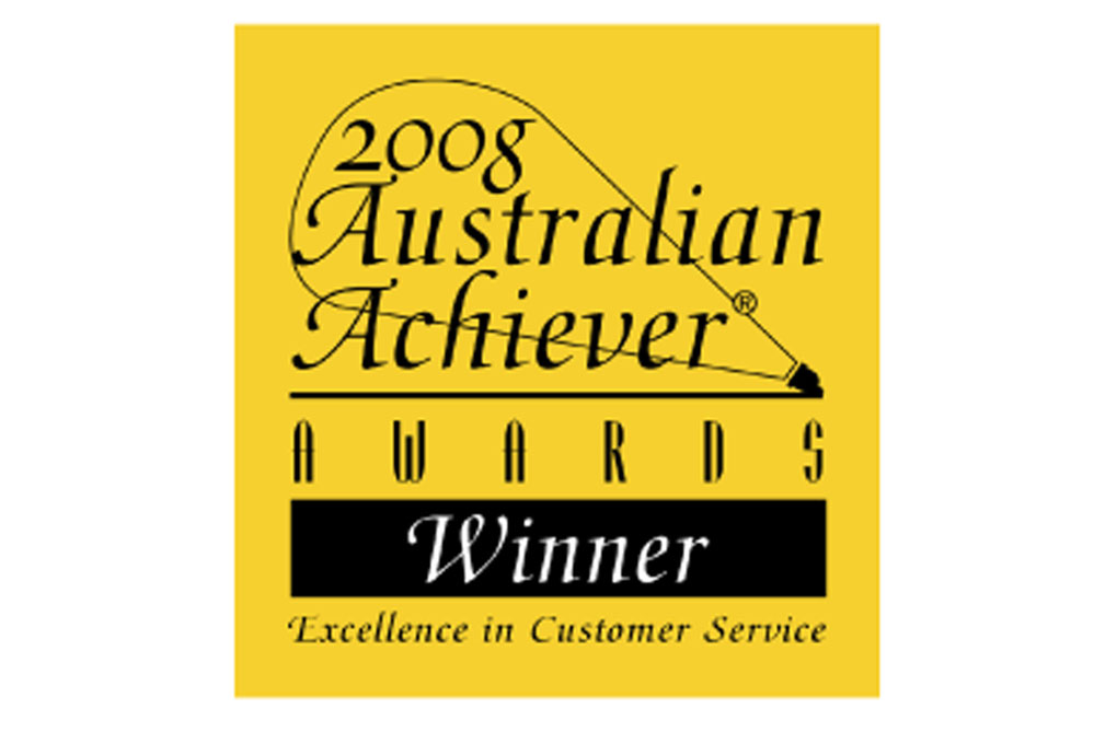 2008 Australian Achiever Awards Winner Excellence in Customer Service Melbourne City Physiotherapy
